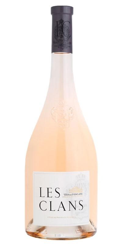 Château D'ESCLANS cuvée LES CLANS - vin rosé 2016