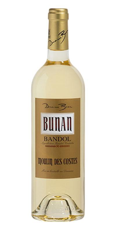 Domaine Bunan cuvée Moulin des Costes - vin Bandol blanc