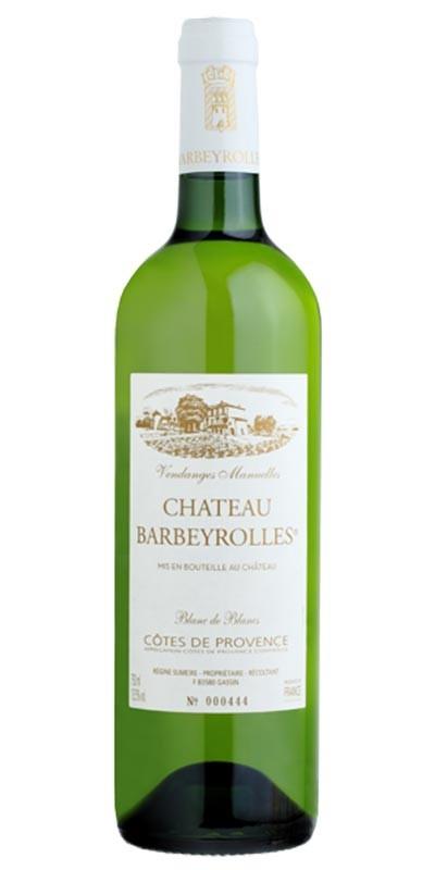 Château Barbeyrolles blanc de blancs - vin blanc 2017