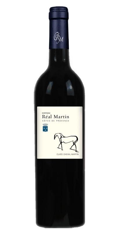 Château Réal Martin - cuvée Cheval Martin - vin rouge