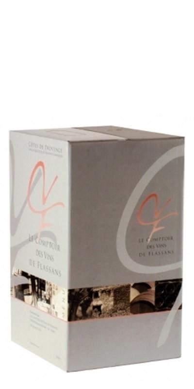 Le Comptoir des vins de Flassans -AOC Côtes de Provence - vin rouge BIB 5l