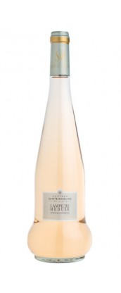 Château Sainte Roseline Lampe de Méduse - vin rosé