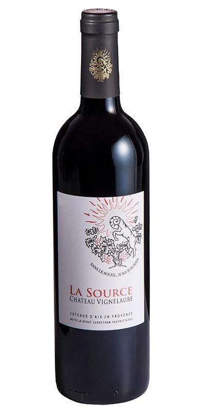 Château Vignelaure - Cuvée La Source de Vignelaure - vin rouge 2015