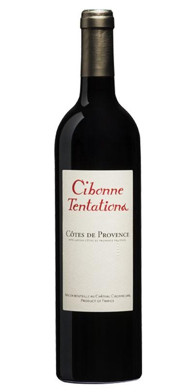Cibonne Tentations - vin rouge 2014