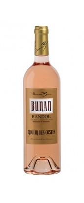 Domaine Bunan cuvée Moulin des Costes - vin Bandol rosé 2017