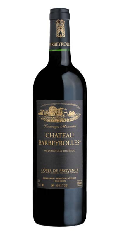Château Barbeyrolles - vin rouge 2017