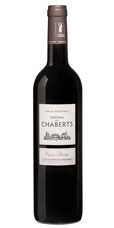 Château des Chaberts Prestige - vin rouge 2016