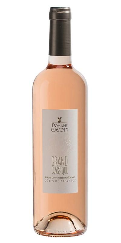 Domaine Gavoty cuvée Grand Classique - vin rosé 2017