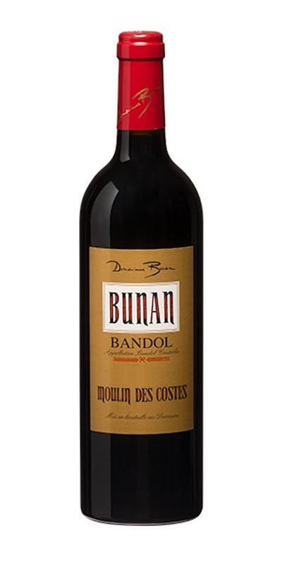 Domaine Bunan cuvée Moulin des Costes - vin Bandol rouge
