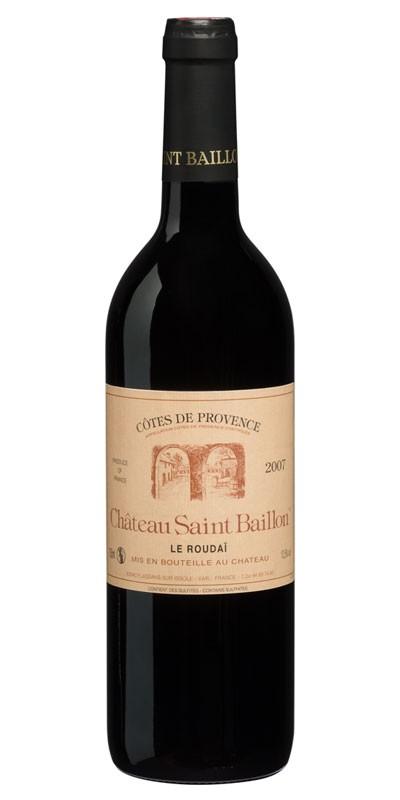 Château Saint Baillon - cuvée Roudai - vin rouge 2007