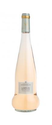 1 Magnum (1.5L) Château Sainte Roseline - Lampe de Méduse - vin rosé