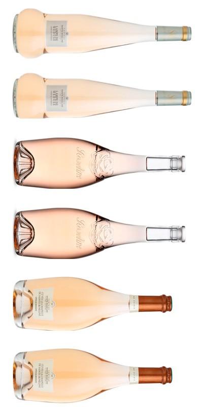 Roseline - Carton dégustation - 6 vins rosés de Provence