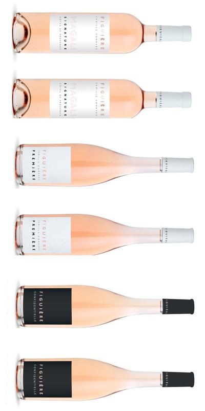 Figuière - Carton Dégustation - 6 vins rosés de Provence