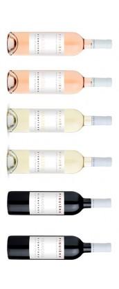 Figuière Signature - Carton Dégustation 6 vins de Provence -rosé, rouge, blanc