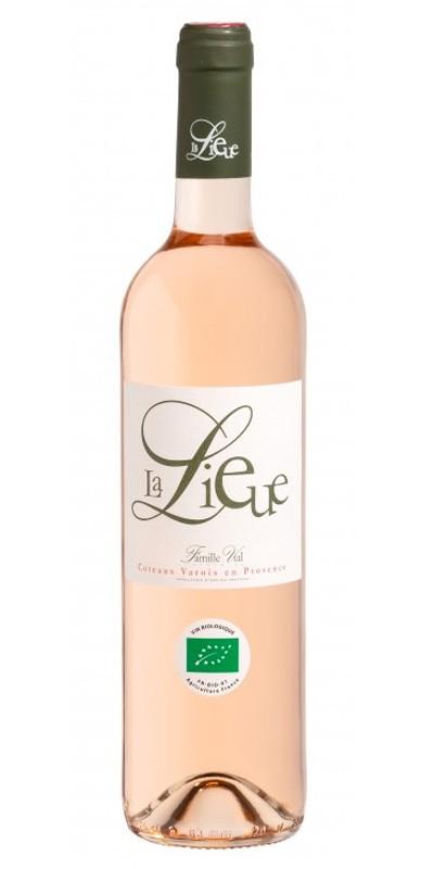 La Lieue vin rosé