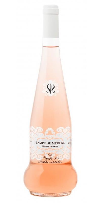 Château Sainte Roseline Lampe de Méduse- édition Lacroix - vin rosé