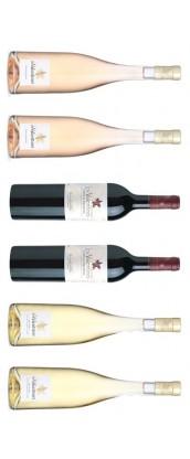 Château Les Valentines - Carton Dégustation 6 vins de Provence - rosé, rouge, blanc