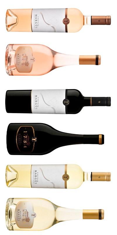 Château Margüi - Carton Dégustation - 6 vins de Provence - rosé, rouge, blanc