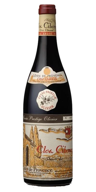 Clos Cibonne cuvée Prestige Olivier - vin rouge