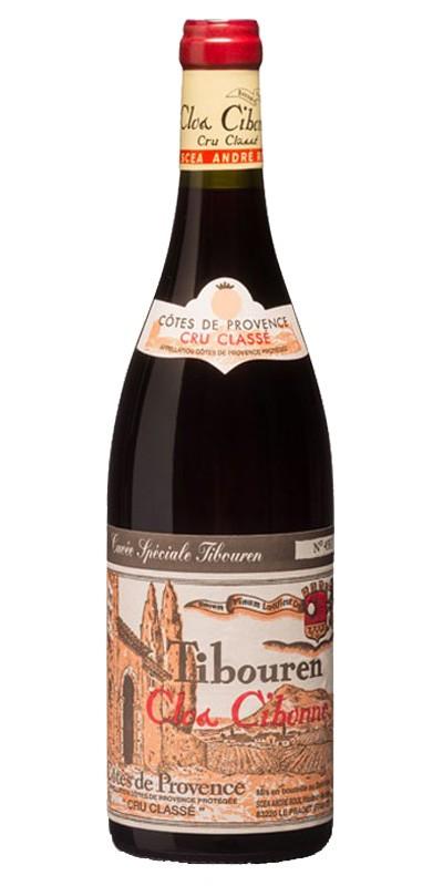 Clos Cibonne cuvée Spéciale Tibouren Bio - vin rouge