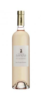Domaine des Aspras cuvée Les Trois Frères - vin rosé