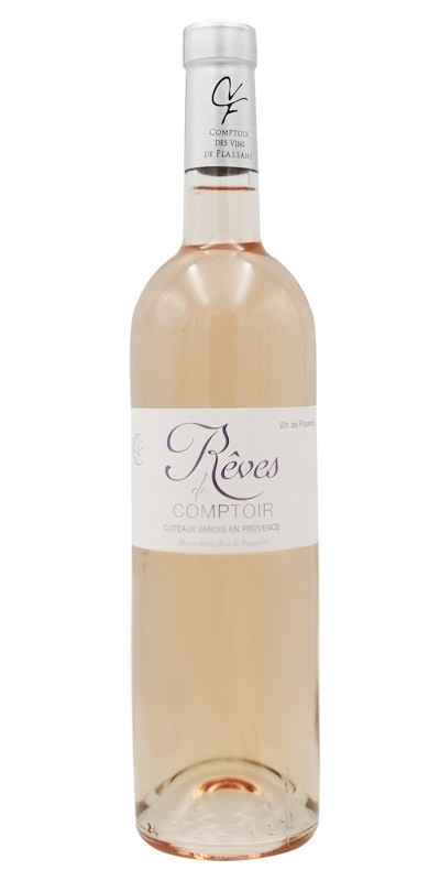 Le Comptoir des vins de Flassans - Cuvée Rêves - vin rosé