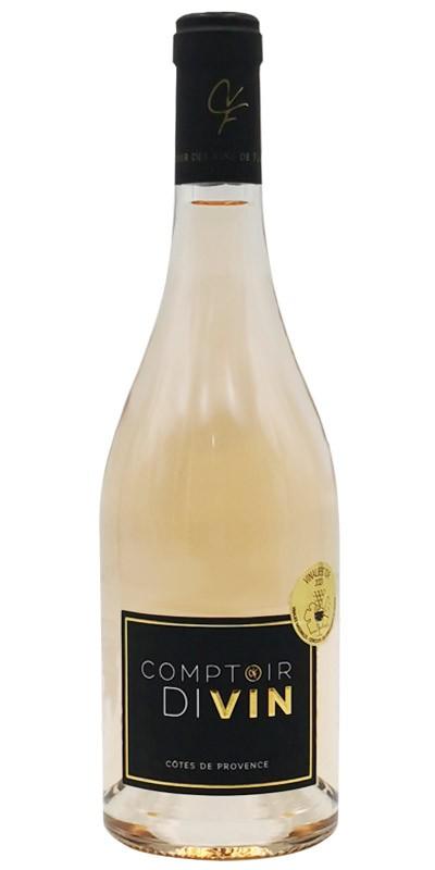 Le Comptoir des vins de Flassans - Cuvée Comptoir Divin - vin rosé