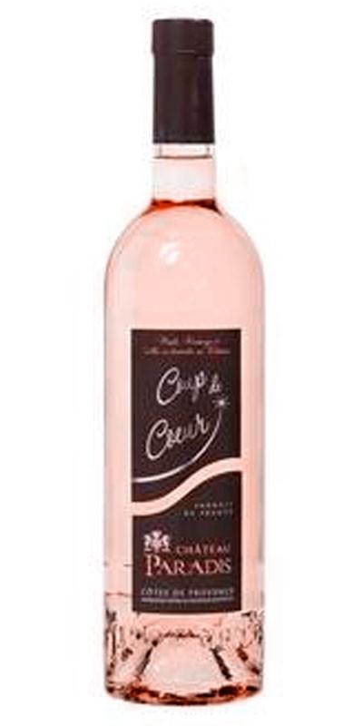 Château Paradis cuvée Coup de Coeur - vin rosé 2016
