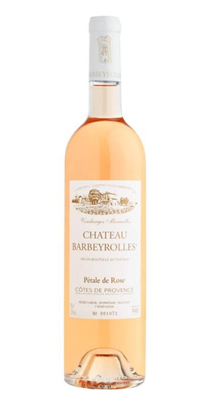 Château Barbeyrolles Pétale de Rose - vin rosé