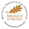 Bronze - Concours Général Agricole Paris